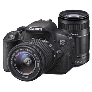Canon 700d Twin Lens Dslr Camera