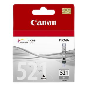 Canon ChromaLife100 CLI-521 Ink Cartridge Grey