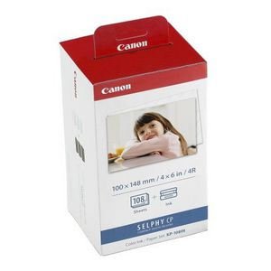 Canon Ink and Paper Pack 108 Sheets KP108IN