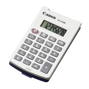 Canon LC-210L 8 Digit Pocket Calculator
