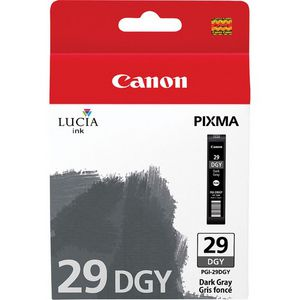 Canon PGI-29 Ink Cartridge Dark Grey
