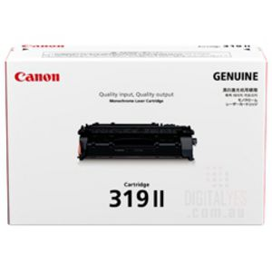 Canon Cart-319II High Yield Toner Cartridge Black