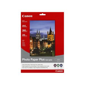 Canon A4 Semi-Gloss Photo Paper 20 Pack
