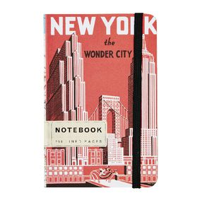 Cavallini Small Notebook New York