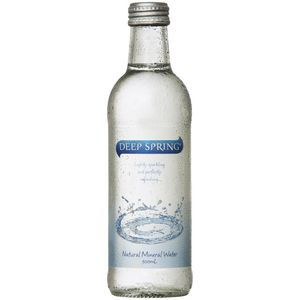 Deep Spring Sparkling Natural Mineral Water 300mL Pack/24