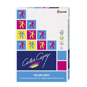 Color Copy 135gsm A3 Silk Copy Paper 250 Sheet Ream
