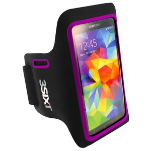 3SIXT Sports Armband for iPhone and Samsung Purple