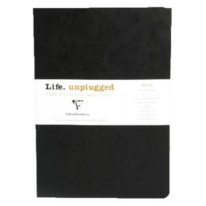 Clairefontaine Essentials A5 Lined Notebook Black 2 Pack
