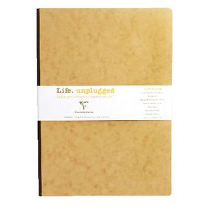 Clairefontaine Essentials A4 Notebook Tobacco