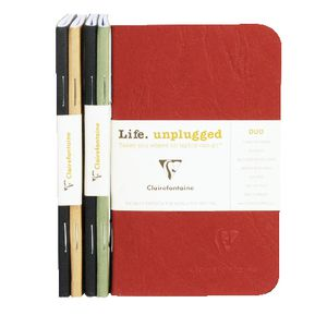Clairefontaine Mini Notebook 2 Pack