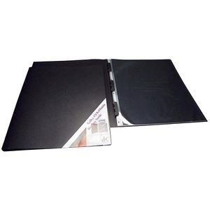 Colby A2 Art Display Book Black