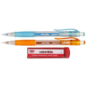 Columbia Shake It Mechanical Pencil With Lead 2 Pack