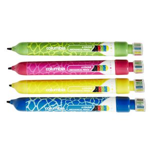 Columbia Multi Colour Mechanical Pencil