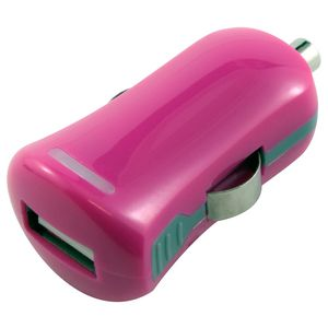 Comsol USB Car Charger 2.1A Pink