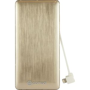 Comsol Ultra Slim Lightning Power Bank 3200mAh Gold