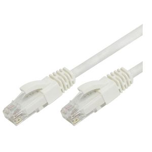 Comsol RJ45 Cat 6 Patch Cable - White 1m