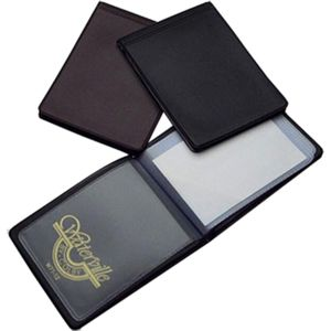 Waterville W7112 Business Card Wallet Black