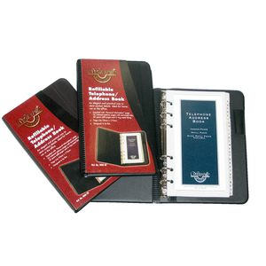 Waterville WAB-30 Refillable Telephone/Address Book