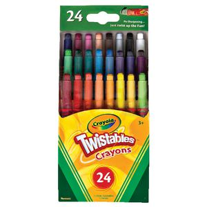 Crayola Mini Twistable Crayons 24 Pack