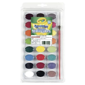 Crayola Watercolour Paints 24 Pack