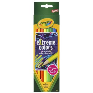 Crayola Extreme Coloured Pencils 8 Pack