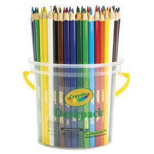 Crayola 48 Triangular Pencils Deskpack
