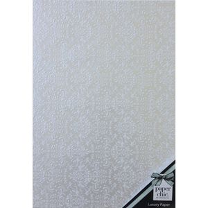 Paper Chic Designer Paper A4 Pearl Wallpaper 5 Pack