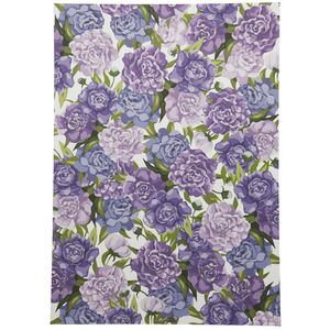 Paper Chic Designer Paper 120gsm A4 Purple Peony 5 Pack