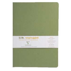 Clairefontaine Essentials A4 Lined Notebook Green 2 Pack