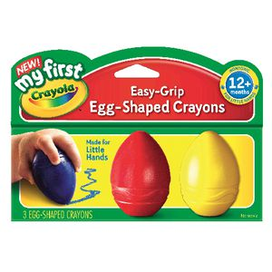 Crayola My First Egg Shaped Crayons