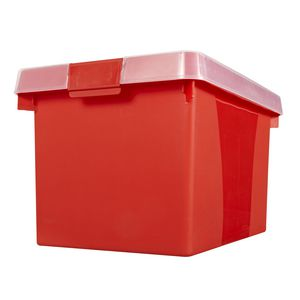 Creation Plastic Easy File n' Store 32L Red