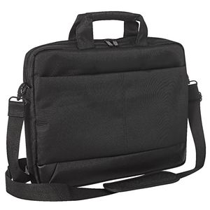 "Crest 15.6"" Laptop Bag Black"