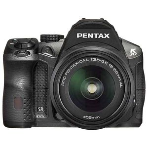 Pentax K-30 Black Digital SLR Camera with 18-55 Lens
