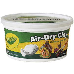 Crayola Air Dry Clay White 1.13kg
