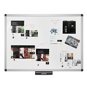 Justick Noticeboard 900 x 1200mm White