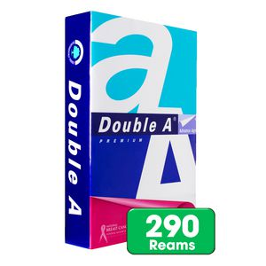 Double A 80gsm A4 Copy Paper 290 Ream Large Pallet
