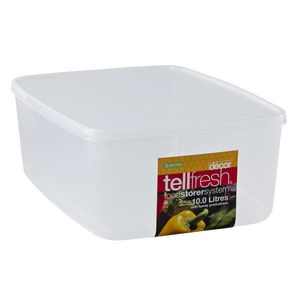 Decor Tellfresh Oblong Container 10L