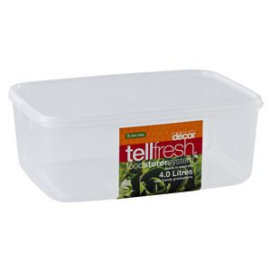 Decor Tellfresh Oblong Container 4L
