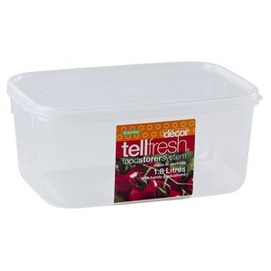 Decor Tellfresh Oblong Container 1.8L