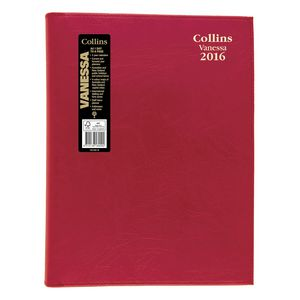 Collins Debden Vanessa A4 Day to Page 2016 Diary Assorted