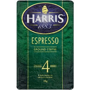 Harris Espresso Ground Coffee 1kg