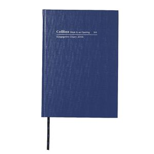 Collins Debden Kingsgrove A4 Week to View 2016 Diary Blue
