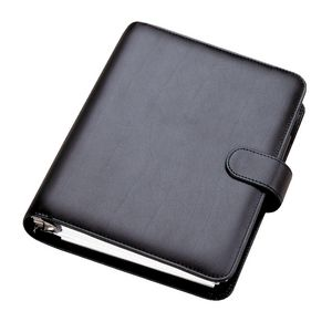 Dayplanner Desk Organiser with Snap Fastener Black