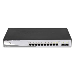 D-Link DGS-1210-10P 10-Port 10/100/1000 Gigabit PoE WebSmart Switch
