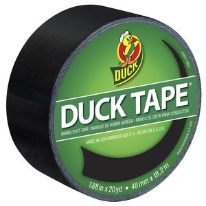 Duck Duct Tape Black 48mm x 18.29m