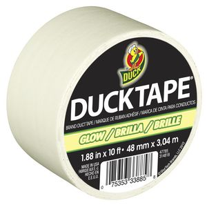 Duck Glow in the Dark Duct Tape 48mm x 3.04m