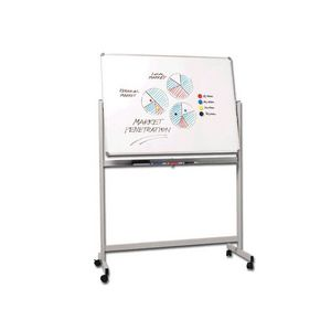 Penrite Magnetic Mobile Whiteboard 1200 x 900mm