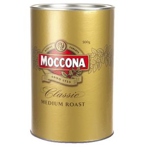 Moccona Classic Medium Roast Coffee 500g Tin