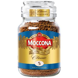 Moccona Classic Decaffeinated Coffee 100g
