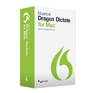 Nuance Dragon Dictate 4 Speech Transcribing Software for Mac